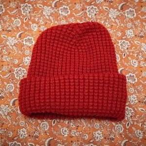 Old Navy Red Beanie